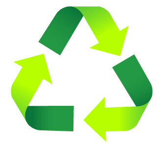 JT Looking after the environment - recycle logo