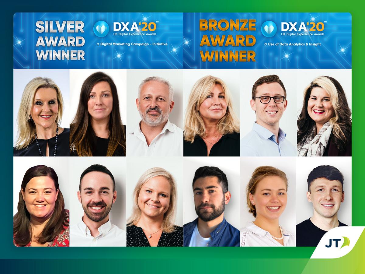 DXA Winners JT