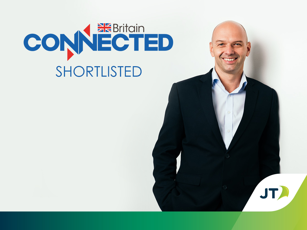 JT shortlisted for Connected Britain Award