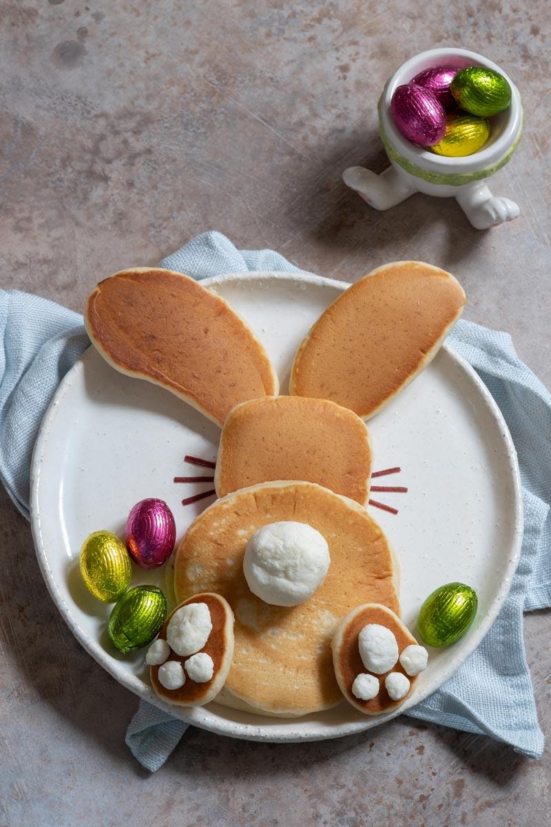 Easter Breakfast Pancakes