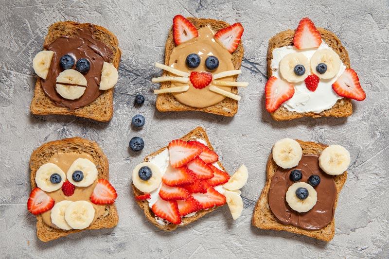 Easter Breakfast toast