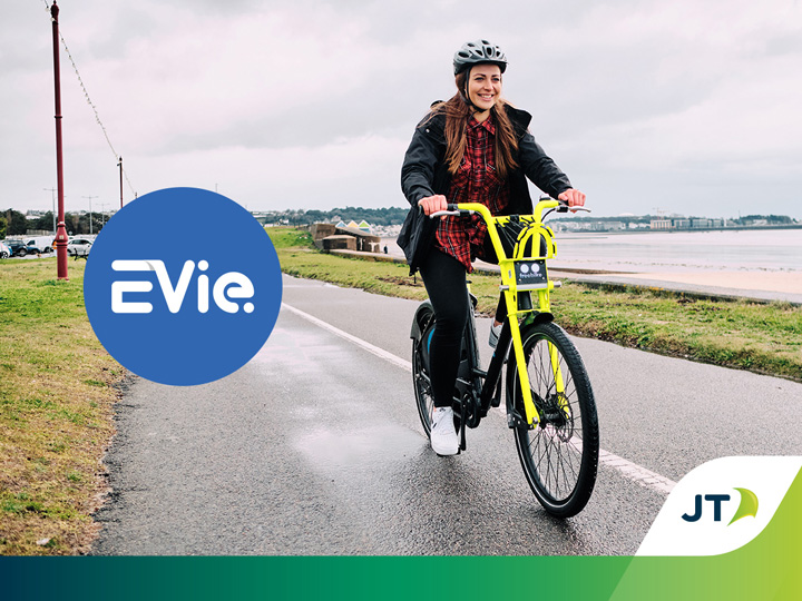EVie environmentally sustainable e-bikes