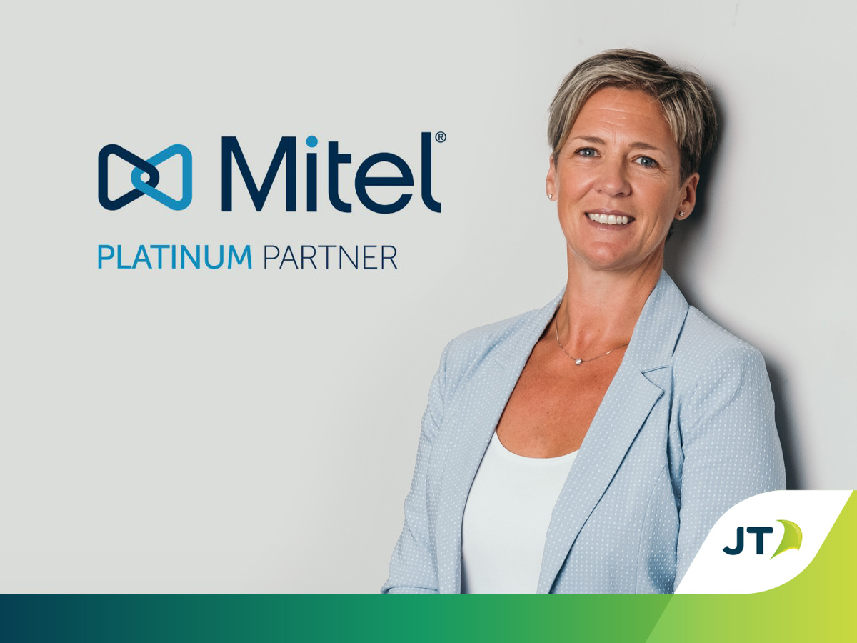 Katie Corbett JT - Mitel Platinum status