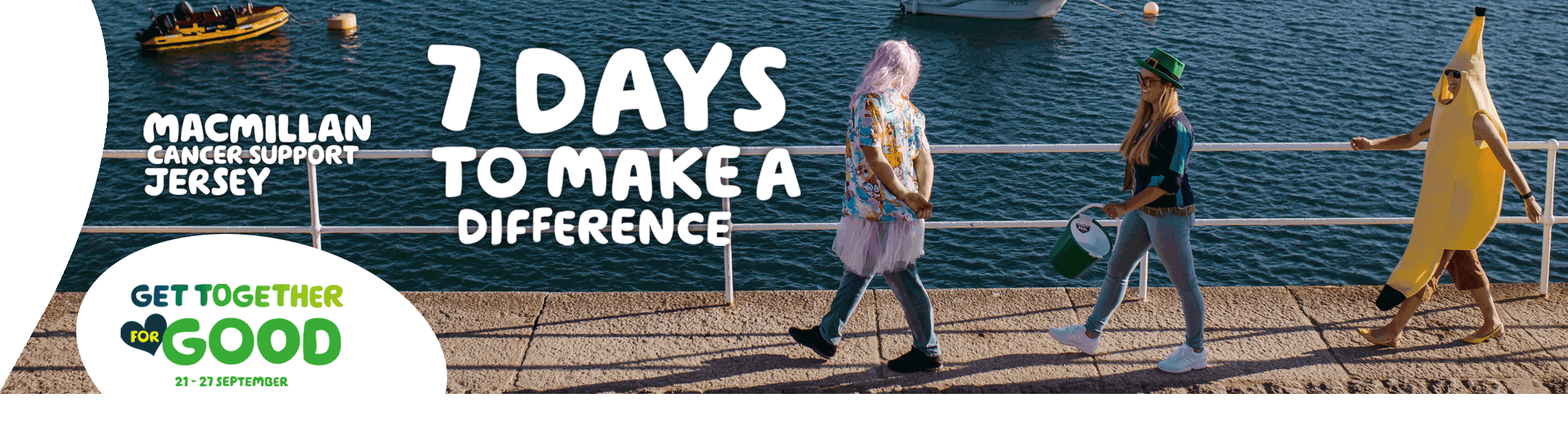Macmillan Jersey - 7 days to make a difference
