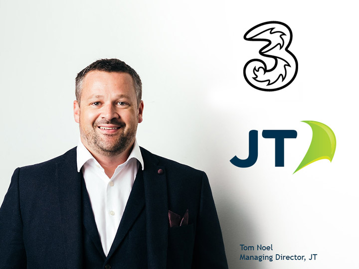 Tom Noel, Managing Director of JT's International Division
